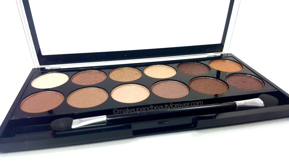 MUA Heaven and Earth Palette Review Swatches