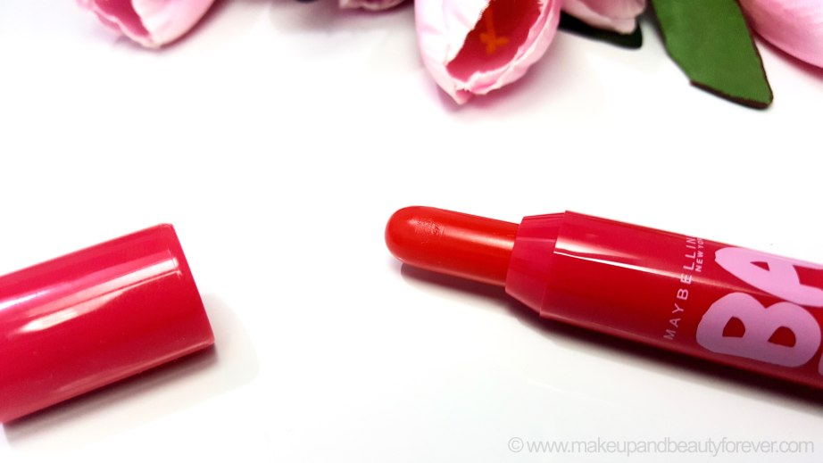 Maybelline Baby Lips Candy Wow Lip Crayon Cherry Review India