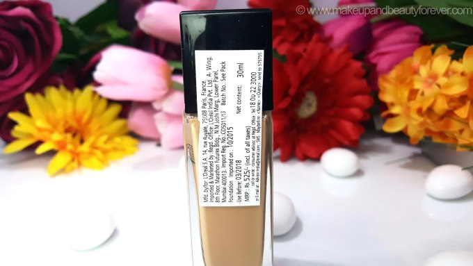 Maybelline Fit Me Matte Poreless Foundation Review Shades Swatches Price