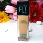 Maybelline Fit Me Matte Poreless Foundation Review Shades Swatches