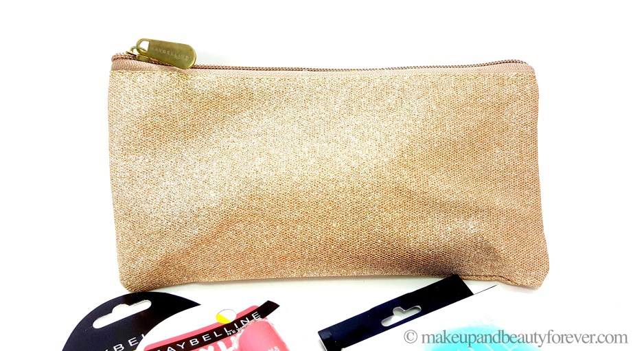Maybelline New York Summer Essentials Kit Golden pouch