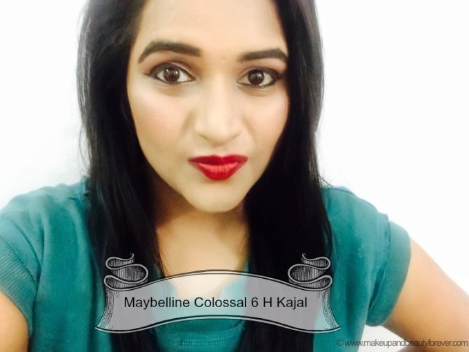 Maybelline The Colossal Kajal Review Astha Goel MBF