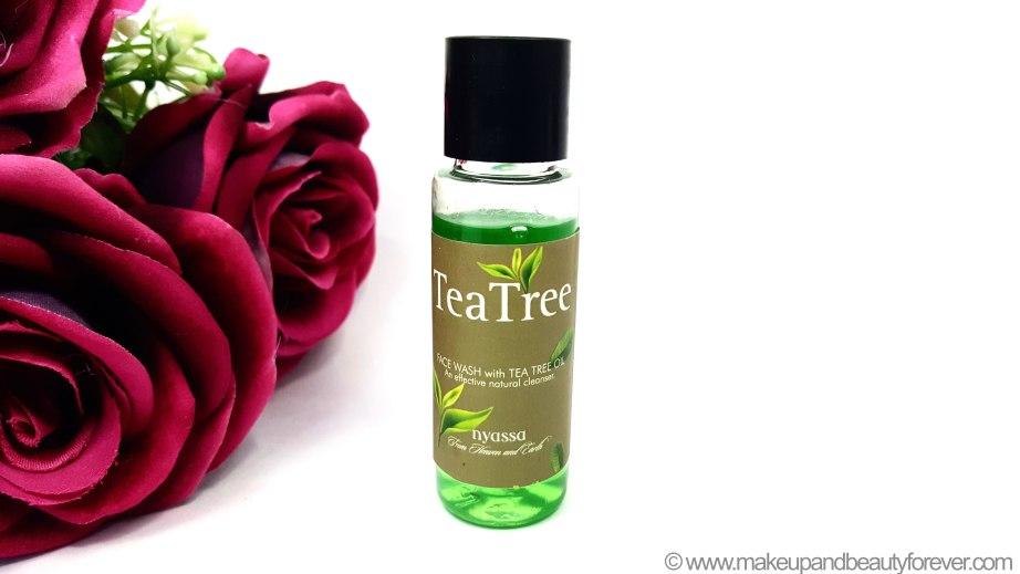 Nyassa Tea Tree Face Wash