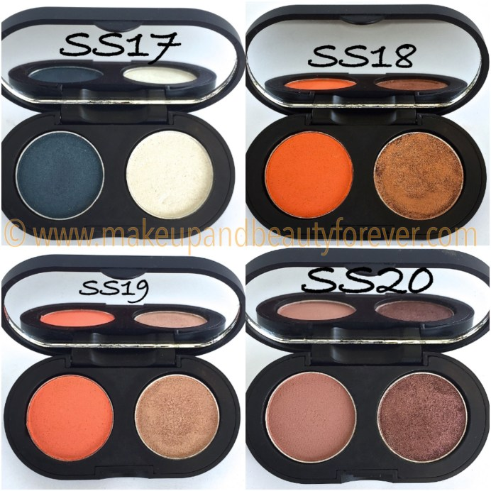 SeaSoul Makeup HD Eyeshadow Palette SS17 SS18 SS19 SS20