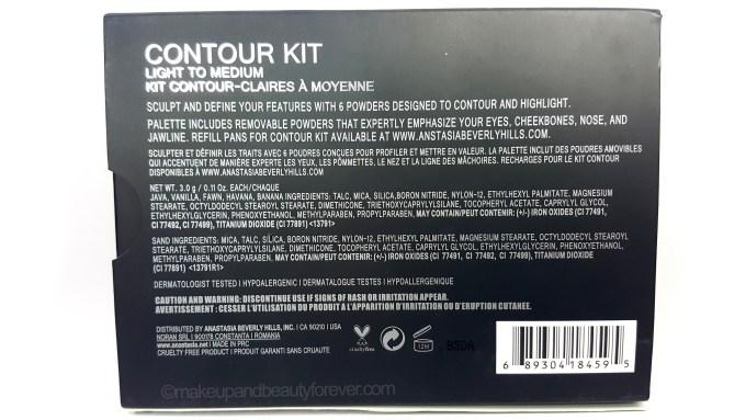 Anastasia Beverly Hills Contour Kit Light Medium Review Online buy price