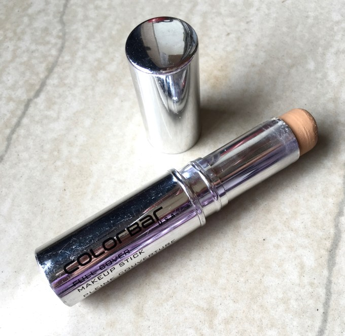 Colorbar Full Cover Makeup Stick foundation concealer Review Swatches