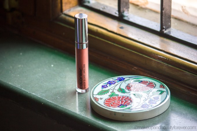 Colorbar Sheer Glass Lipgloss Brown Sheen Review, LOTD