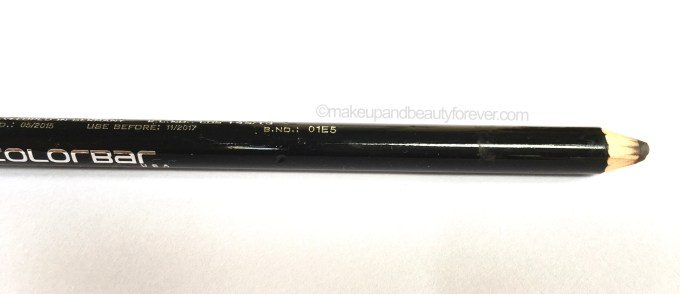 Colorbar Stunning Brow Pencil Chestnut Review shade