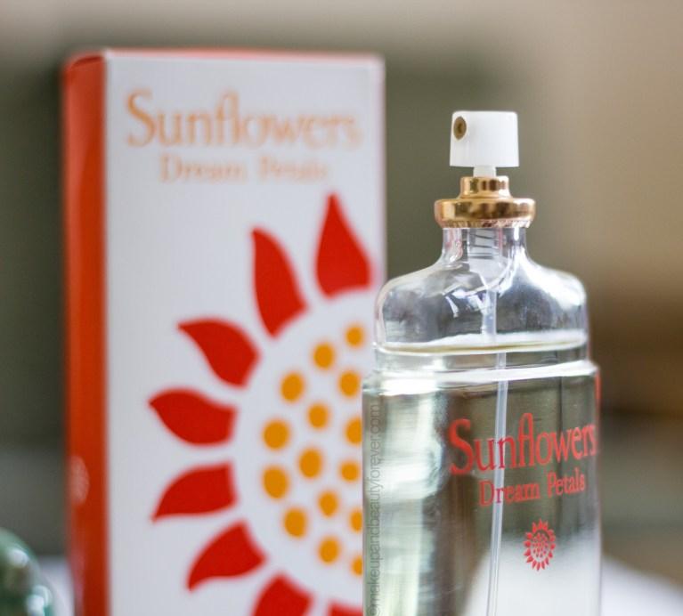 Elizabeth Arden Sunflower Dream Petals EDT Perfume Review beauty blog