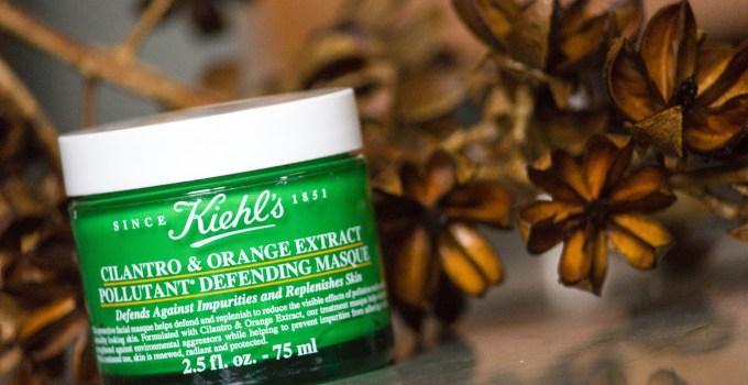 Kiehl's Cilantro & Orange Extract Pollutant Defending Masque Review