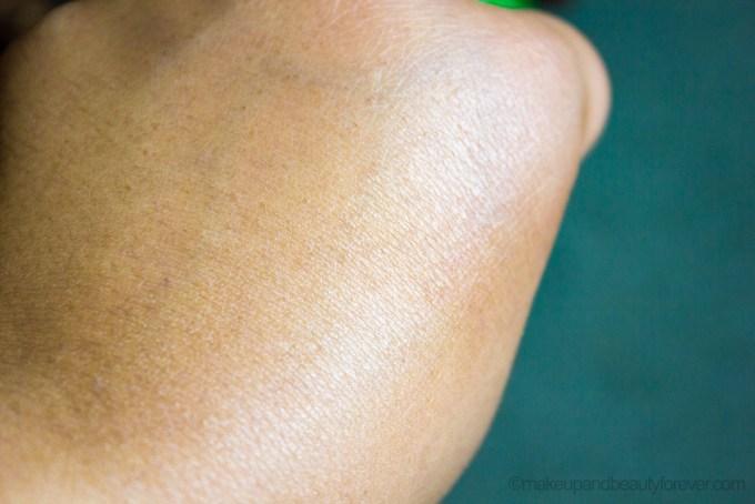 Kiehl's Cilantro & Orange Extract Pollutant Defending Masque Review swatch