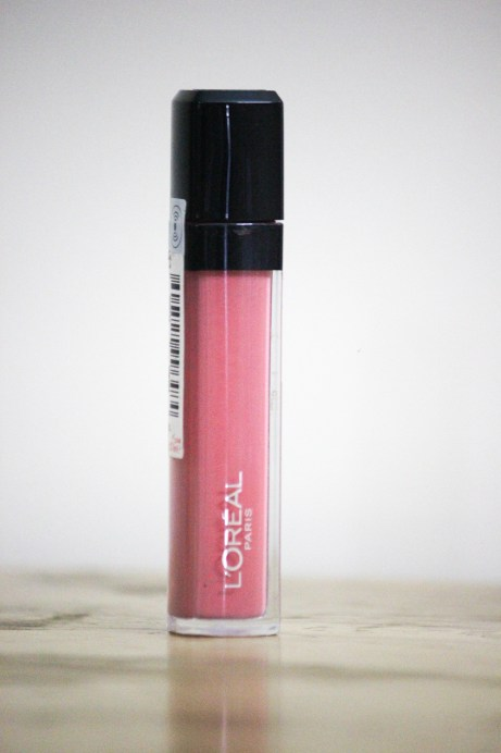 L'Oreal Infallible Mega Gloss Fight For It Shade 109 Review Swatches
