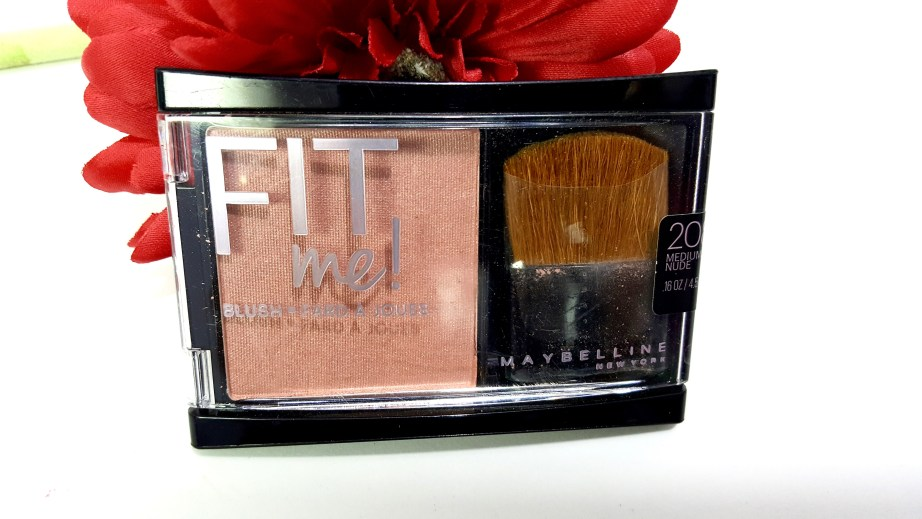 Maybelline Fit Me Blush Medium Nude 208 Review Swatches