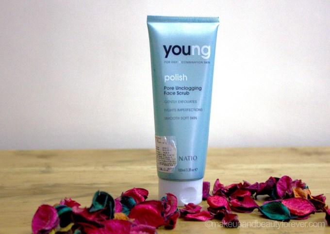 Natio Young Polish Pore Unclogging Face Scrub Review