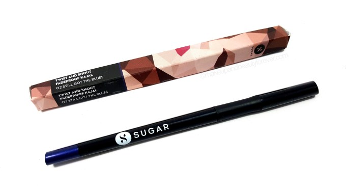 SUGAR Twist And Shout Fadeproof Kajal 02 Still Got The Blues Review