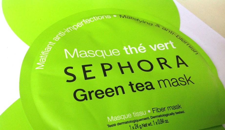 Sephora Green Tea Sheet Mask Review