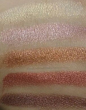 Sivanna Shinning Star Shimmer Brick Review Swatches 1