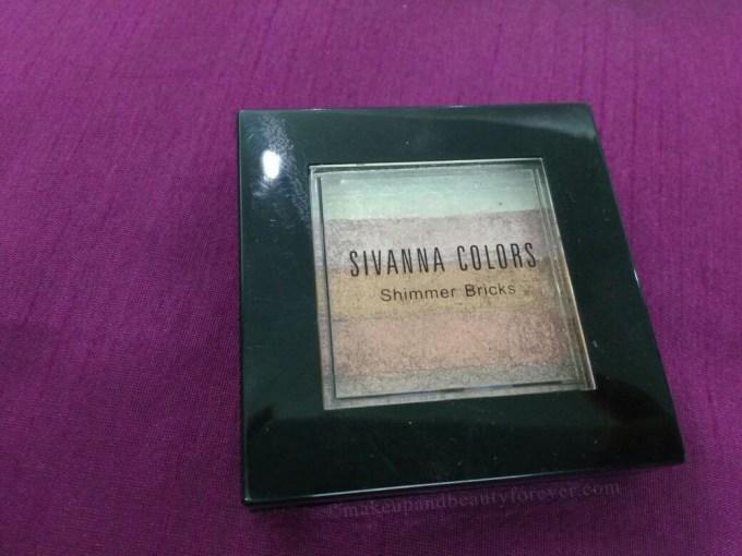 Sivanna Shinning Star Shimmer Brick Review bobbi brown dupe