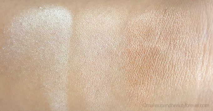 theBalm Manizer Sisters Mary Cindy Betty Lou Manizer Palette Review blended swatch