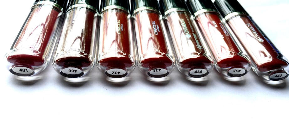 All Chambor Liquid Lipstick Shades Swatches Review