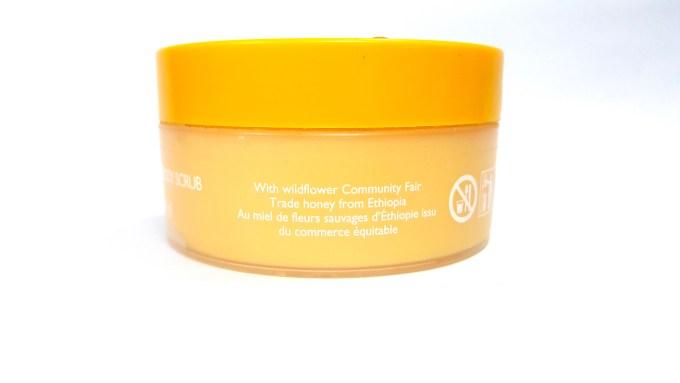 Body Shop Honeymania Cream Body Scrub Review