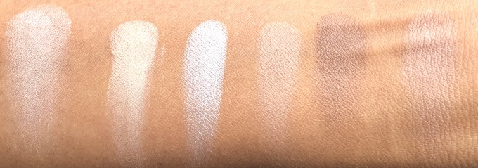 Freedom Pro Strobe Highlight and Contour Palette With Brush Review Swatches mbf beauty blog