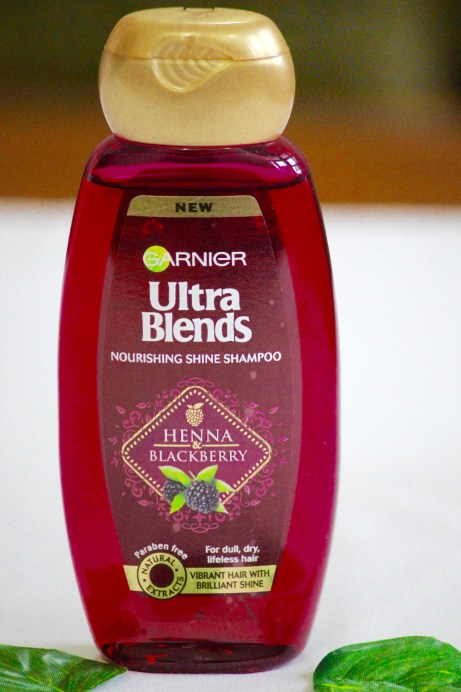 Garnier Ultra Blends Henna Blackberry Nourishing Shine Shampoo Review