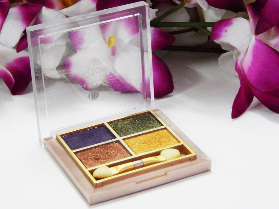 Lakme 9 5 Eye Quartet Eyeshadow Palette Tanjore Rush Review Swatches