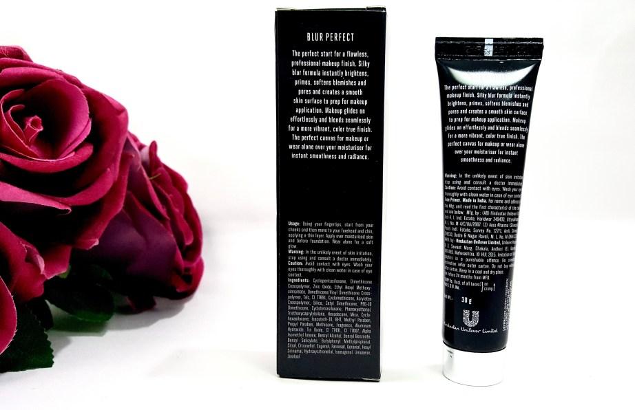 Lakme Absolute Blur Perfect Makeup Primer Review details
