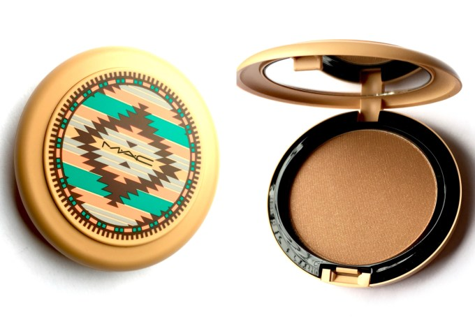 MAC Vibe Tribe Collection Bronzing Powder Refined Golden Review Swatches MBF