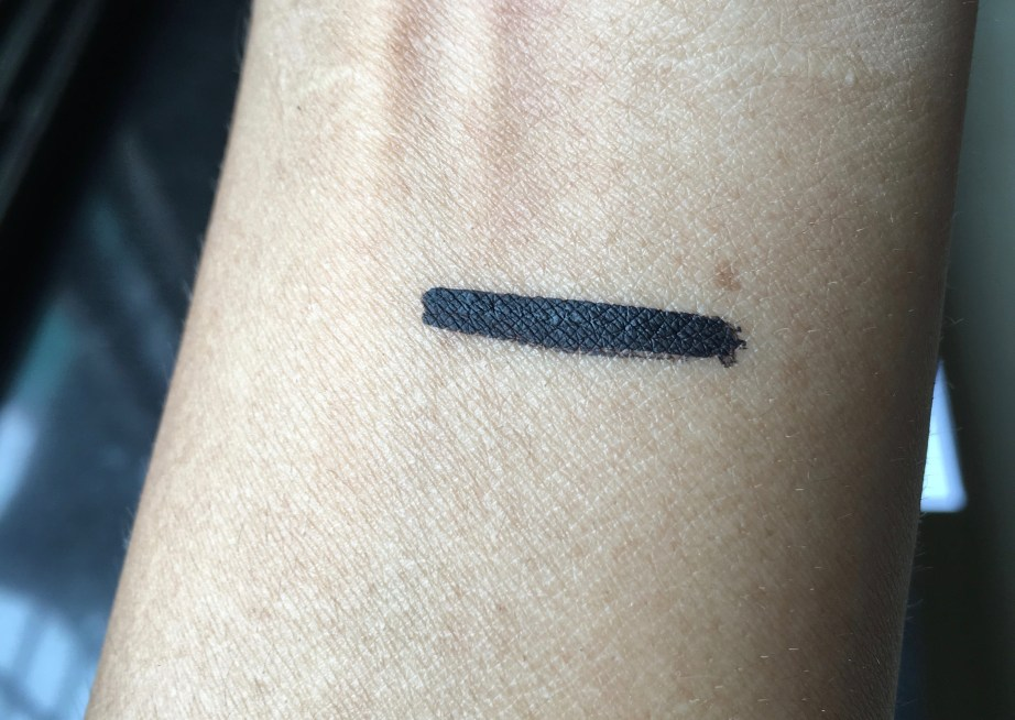 Maybelline Hyper Matte Liquid Liner Review Swatches on hand