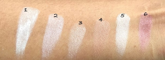 Maybelline The Blushed Nudes Palette Review Swatches Makeup 1 to 6 shades