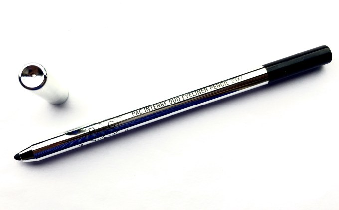 PAC Intense Duo Eyeliner Pencil Review Swatches blog