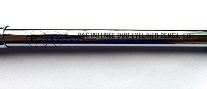 PAC Intense Duo Eyeliner Pencil Review