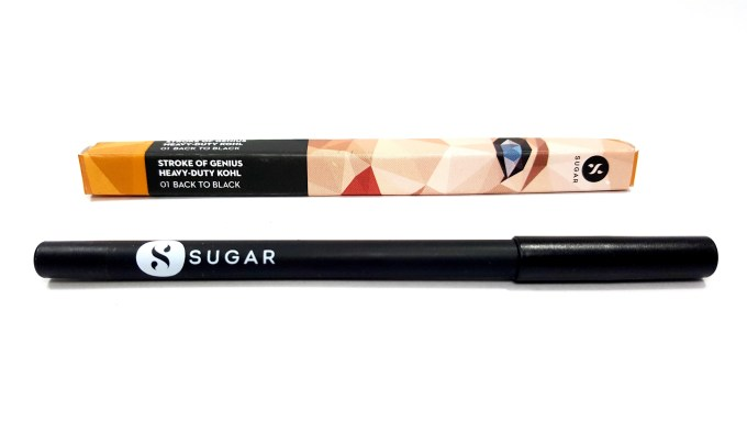 SUGAR Stroke Of Genius Heavy Duty Kohl 01 Back To Black Review Swatches