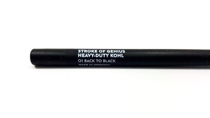 SUGAR Stroke Of Genius Heavy Duty Kohl Back To Black Review Swatches