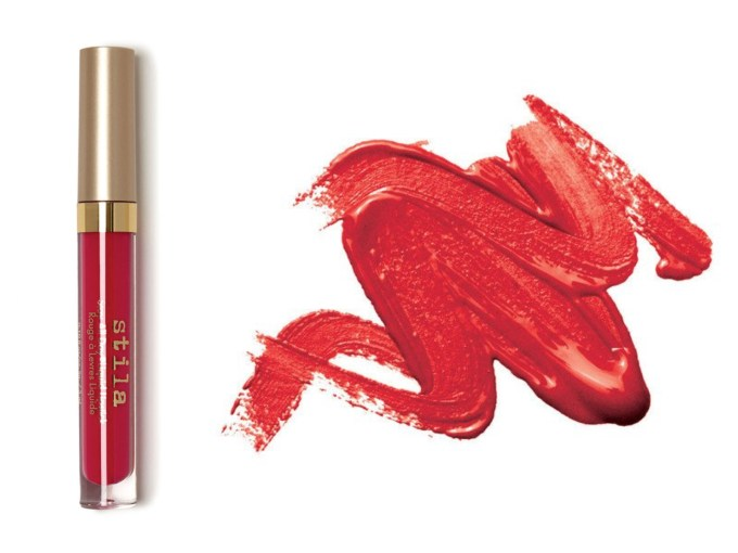 Stila Stay All Day Liquid Lipstick Fiery Review Swatches Price