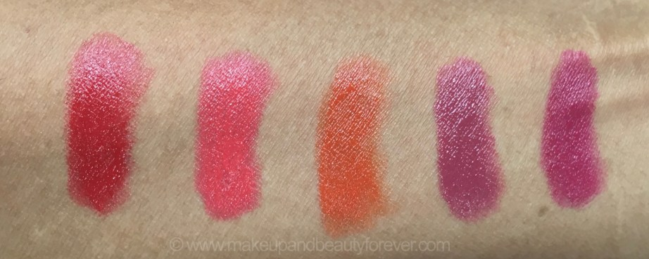 All Faces Ultime Pro Creme Lip Crayons 10 Shades Review Swatches Red Velvet Sunset Kiss Envy Invincible Mochalicious Sun Dew Fantasy Cherrypop Berry Punch Confession 5