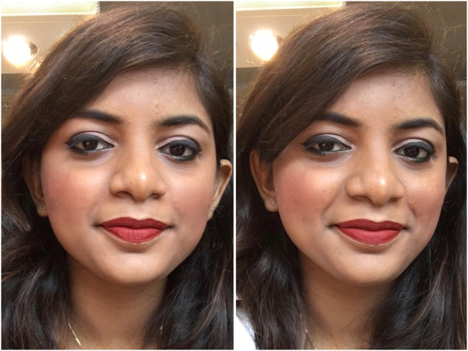 Chambor Extreme Wear Liquid Lipstick Shade 432 Review Swatches MBF Makeup Look 1
