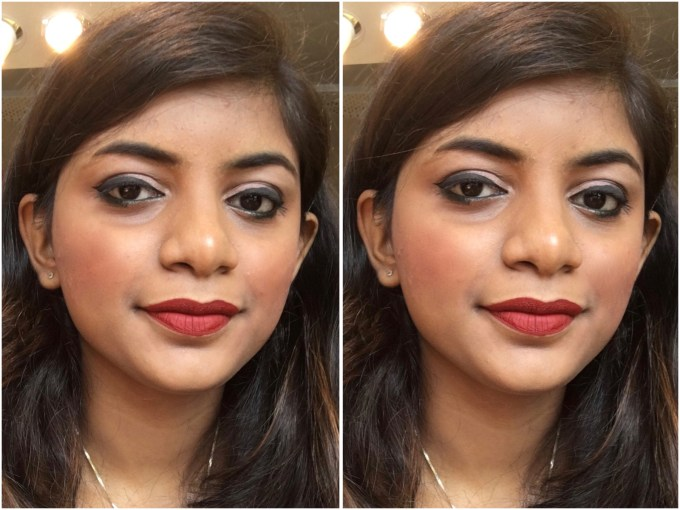 Chambor Extreme Wear Liquid Lipstick Shade 432 Review Swatches MBF Makeup Look 2