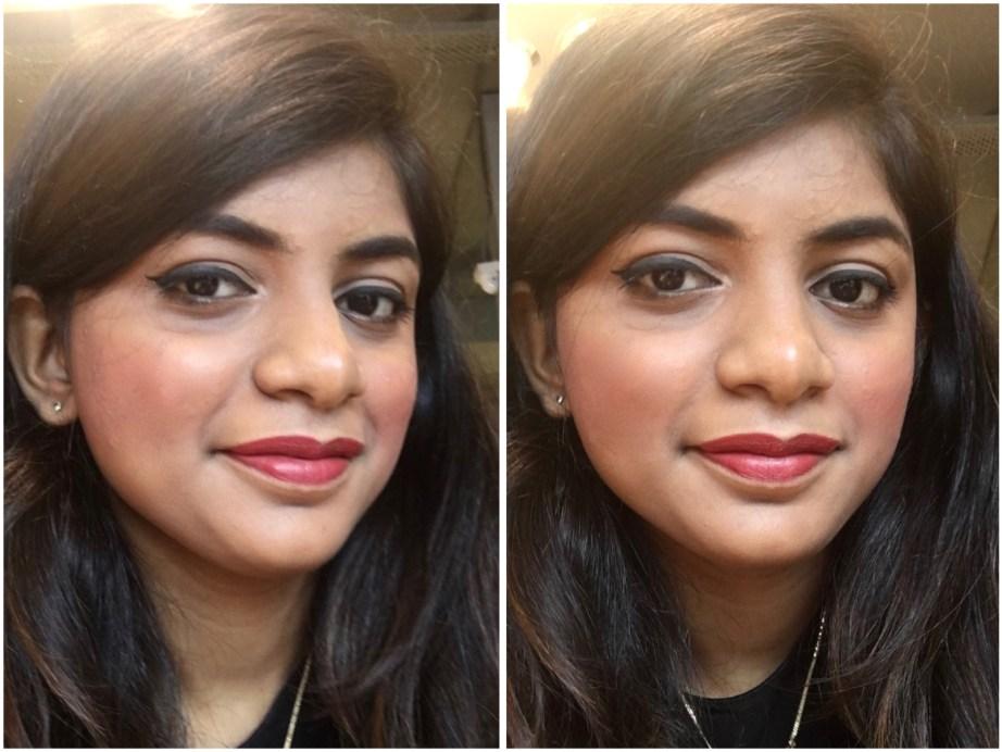 Chanel Rouge Allure Velvet Luminous Matte Lip Colour 58 Rouge Vie Review Swatches MBF Makeup look