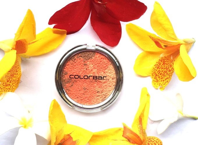 Colorbar Luminous Rouge Blush Luminous Coral Review Swatches mbf