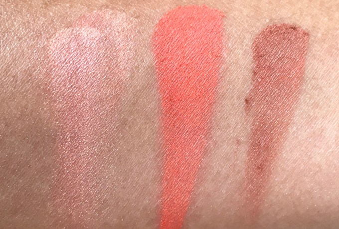Colorbar Luminous Rouge Blush Luminous Coral Review Swatches on hand