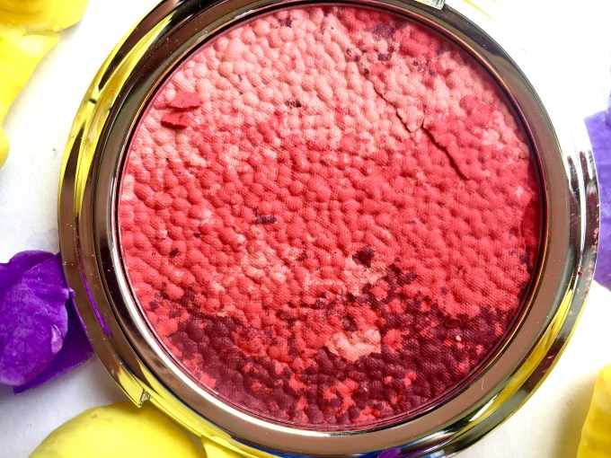 Colorbar Luminous Rouge Blush Luminous Rose Review Swatches makeup beauty blog