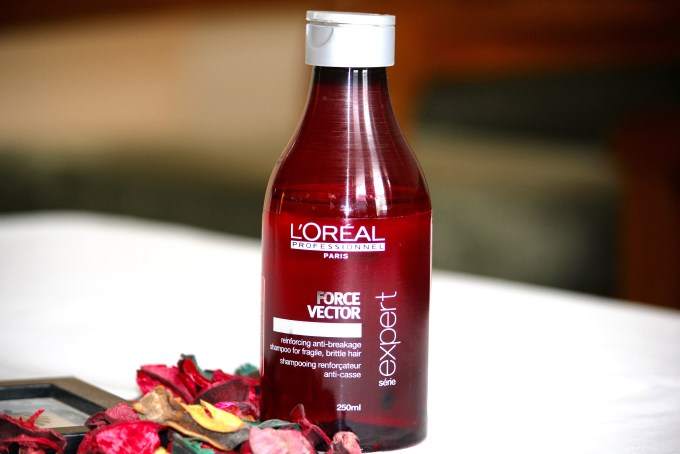 L'Oreal Professional Série Expert Force Vector Shampoo Review mbf blog