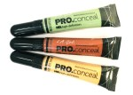 L.A. Girl Pro Conceal HD Orange, Green, Yellow Correctors Review, Swatches, Demo