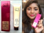 Lakme 9 To 5 Color Transform CC Cream Review, Swatches