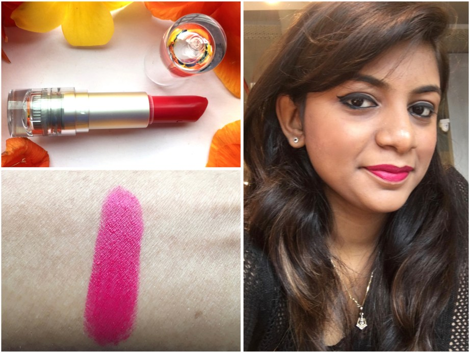 Lakme Enrich Matte Lipstick PM 15 Review Swatches