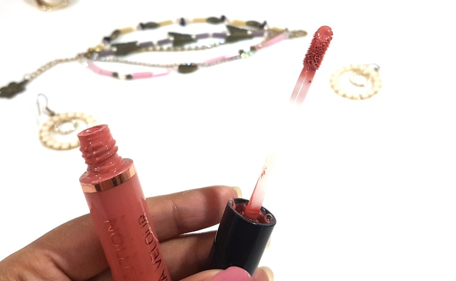 Makeup Revolution Ultra Velour Lip Cream Cant We Just Make Love Instead Review Swatches mbf
