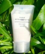Muji Skincare Face Soap Scrub Review